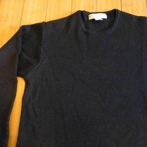 Geoffrey Beene sport  wool blend blk sweater S